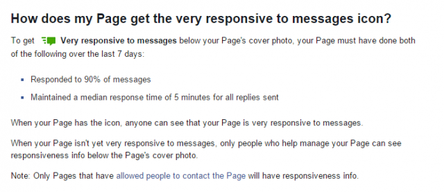 FB Response Time for Blog